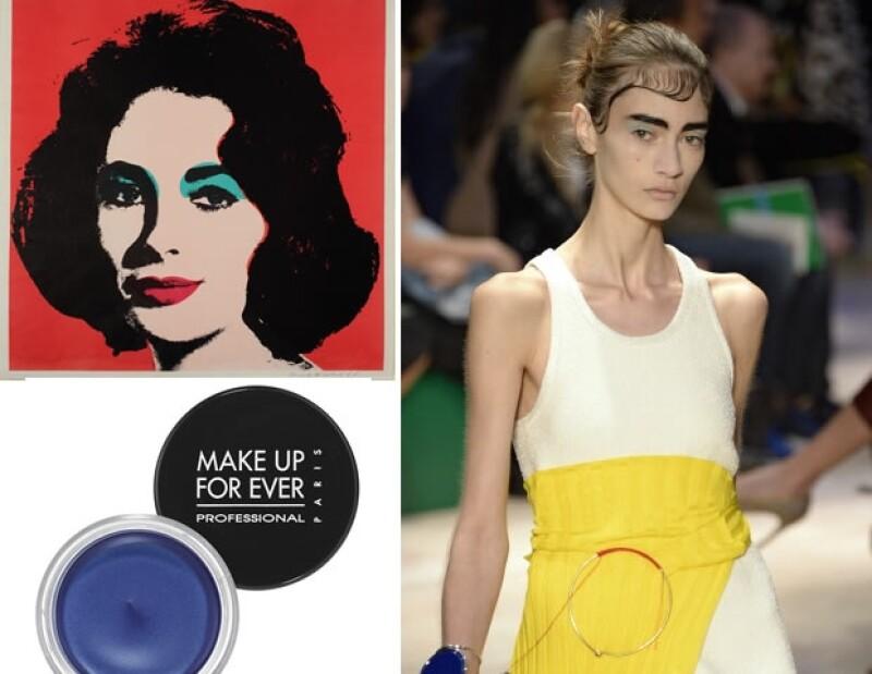 Esta es una obra característica Popism: The Warhol Sixties, donde Liz Taylor quedó inmortalizada por el artista.