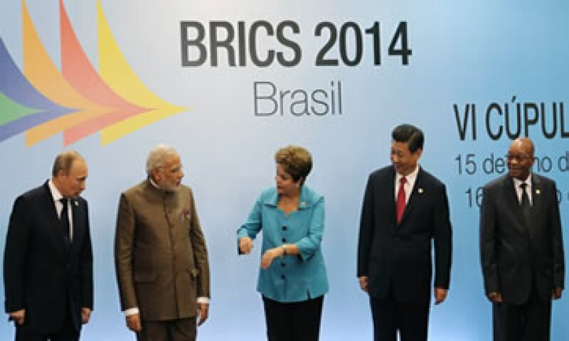 Los líderes de los países BRICS se reúnen en Fortaleza, Brasil. (Foto: Reuters)