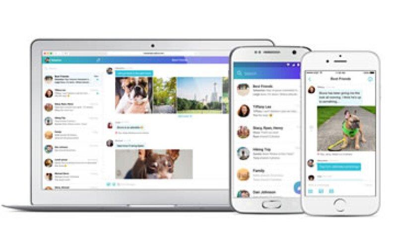 El nuevo Yahoo Messenger está disponible para web, iOS y Android. (Foto: Cortesía/Yahoo)