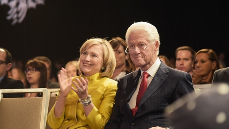 Bill y Hillary Clinton