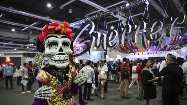 ACAPULCO, GUERRERO, 09ABRIL2019.- Se cumple el tercer día del Tianguis Turístico 2019 en donde los estados del país muestran sus artesanías y actividades productivas para poder comercializarlas dentro del territorio nacional o en el mercado internacio