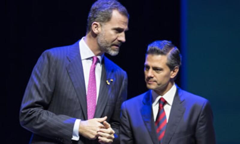 El rey Felipe VI de España visitó México en 2014 para participar a la Cumbre Iberoaméricana. (Foto: Getty Images )