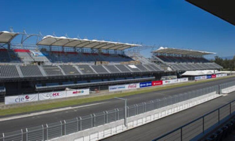 El Autódromo Hermanos Rodríguez fue remodelado para estar listo para el Gran Premio de México este fin de semana (Foto: Cuartoscuro/Archivo)