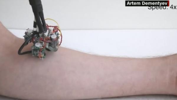 Con robots que recorren la piel humana, este proyecto quiere ayudar a la salud