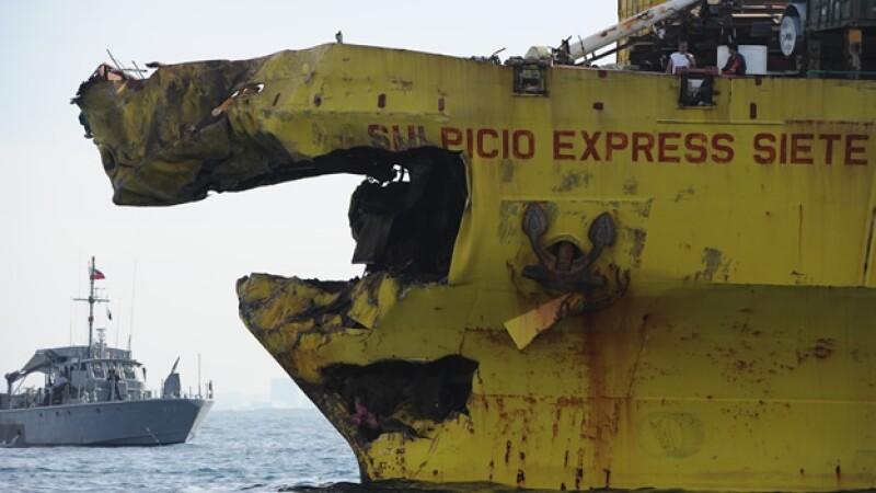 accidente bote filipinas