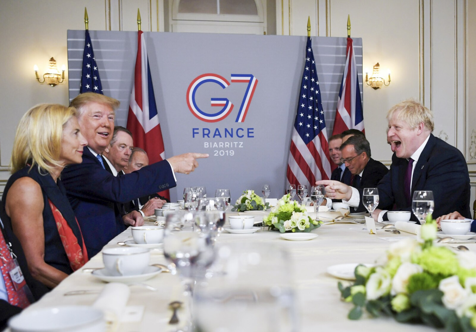 G7 Trump-Johnson