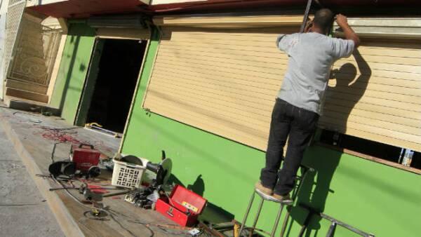 Reparaciones por el huracán Odile