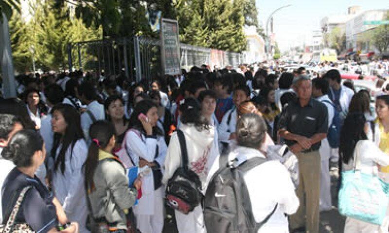 El temblor en la Ciudad de méxico no ocasionó desastres. (Foto: Notimex)