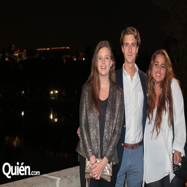 Ana Creel, Santiago Ruiz Monasterio, Lorenza Aranda