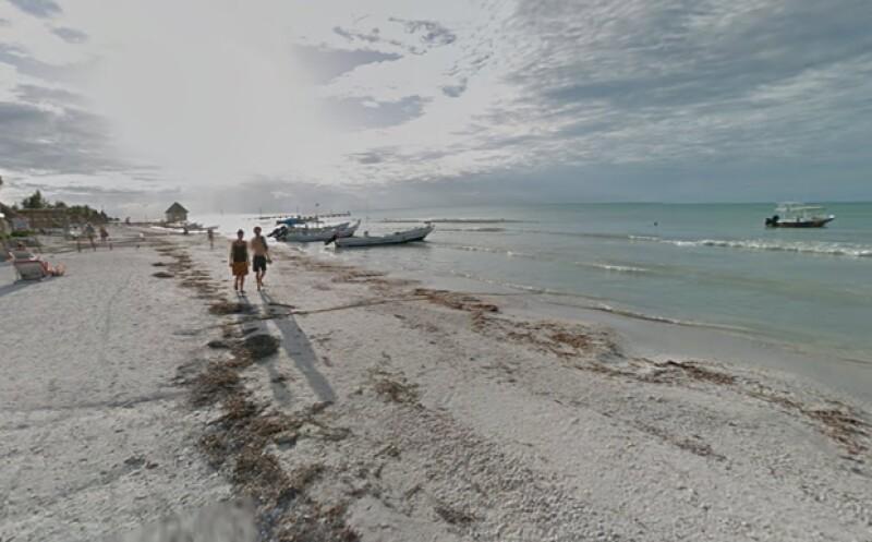 La isla Holbox en Quintana Roo es uno de los recorridos en Google Maps (Foto: Tomada de Google Maps)