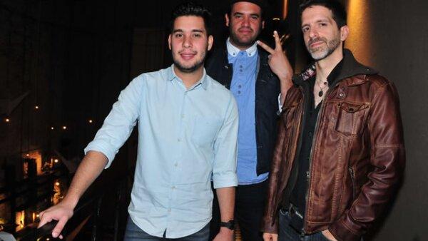 Cesario Castillo, Mauricio Sánchez, Pablo González.