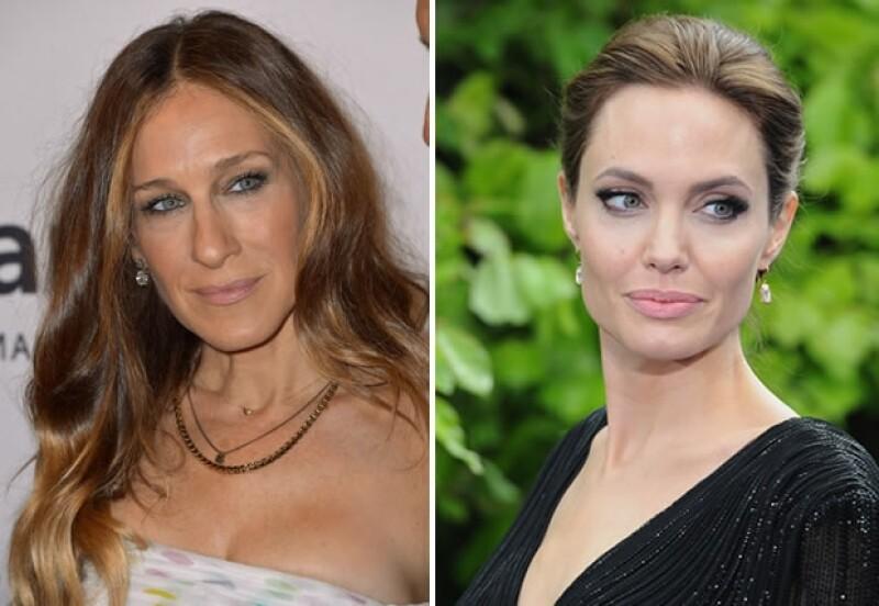 Sarah Jessica Parker y Angelina Jolie