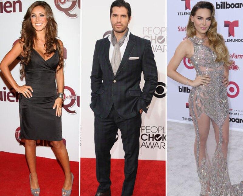 Anahí, Eduardo Verástegui y Belinda llevan ya varios años alejados de las telenovelas.