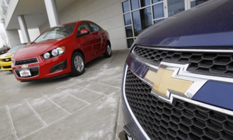 El nuevo Chevrolet Sonic es un modelo compacto y juvenil. (Foto: AP)