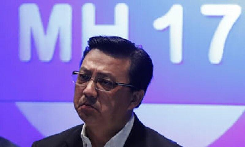 El ministro malasio de Transportes, Liow Tiong Lai, dijo que autoridades internacionales juzgaron seguro el recorrido del vuelo. (Foto: Reuters)