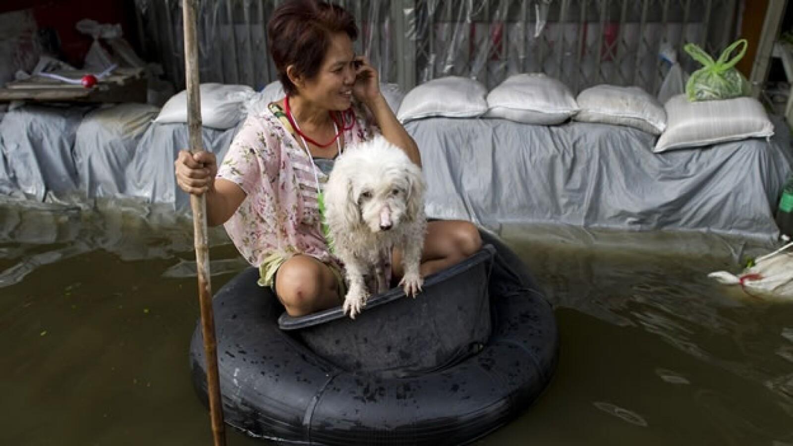 bangkok tailandia inundaciones 07