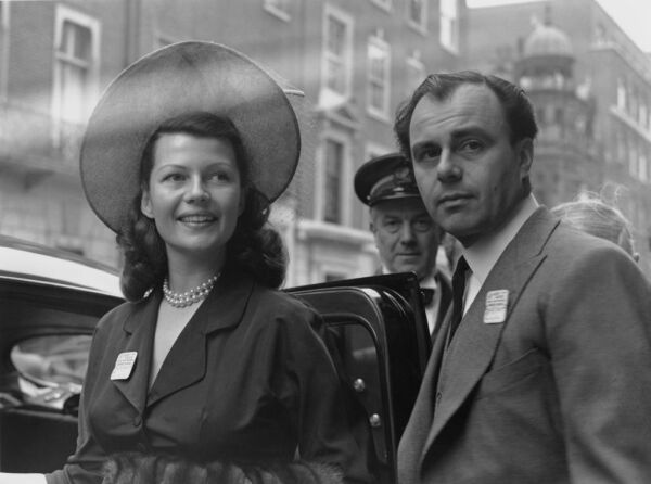 Rita Hayworth And Prince Aly Khan