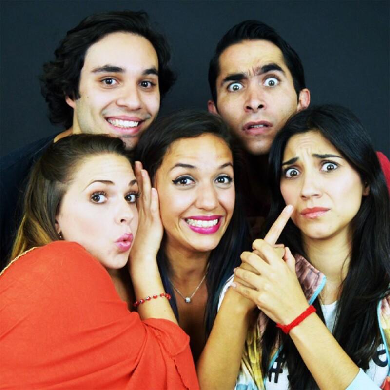 """Cinco voces de talentos del teatro musical y la actuación en México se unen en """"Cántamesta"""", un proyecto musical donde rinden tributo a hits cantados en su propio estilo."""