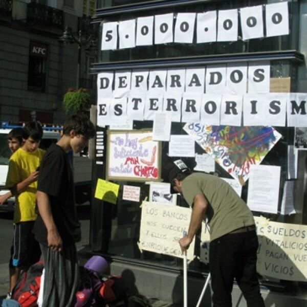 España - desempleo