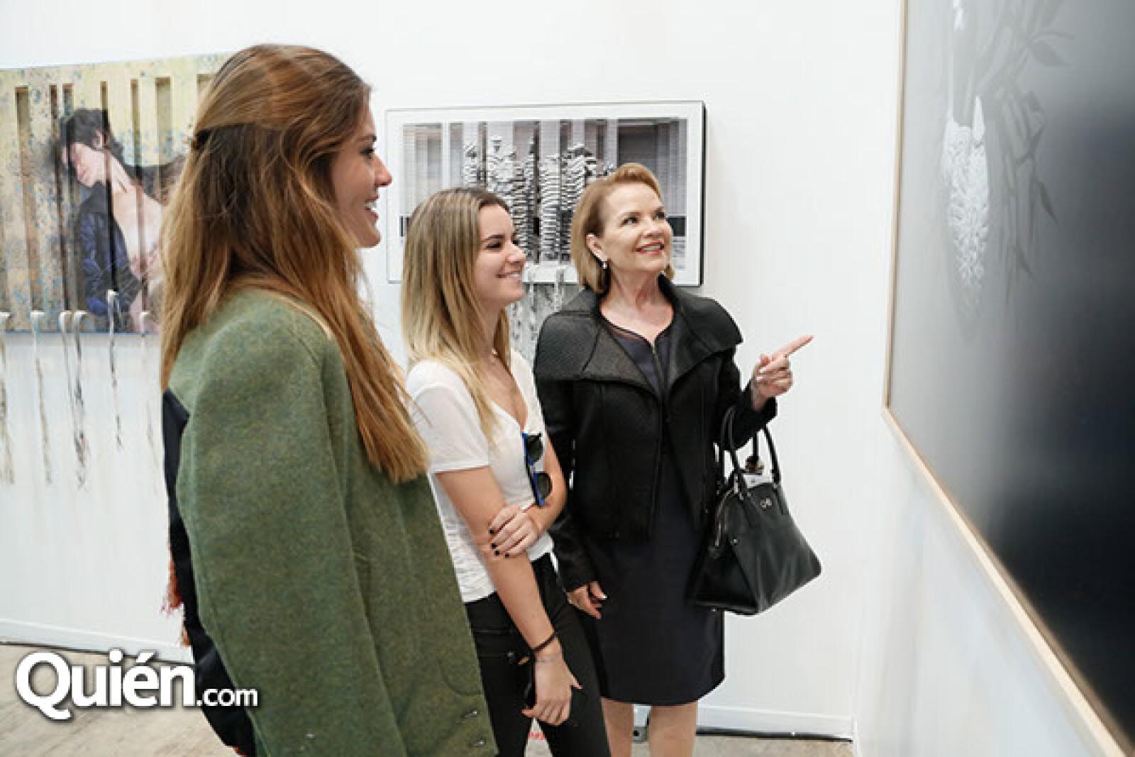 Fernanda Rogel, Gabriela Antillon y Leonor Coppel