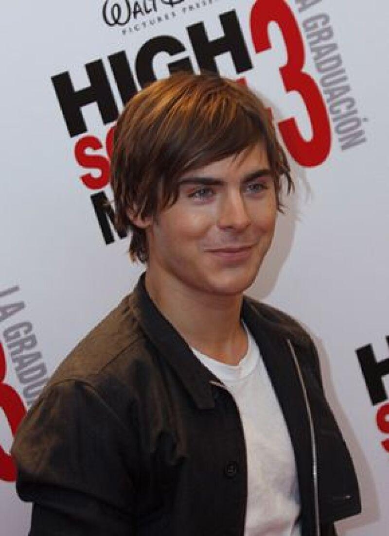 El actor de High School Musical está ansioso por comenzar otros proyectos en cine.