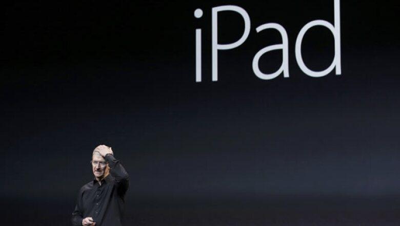 Apple presentó un nuevo modelo de iPad, en su último evento del año.