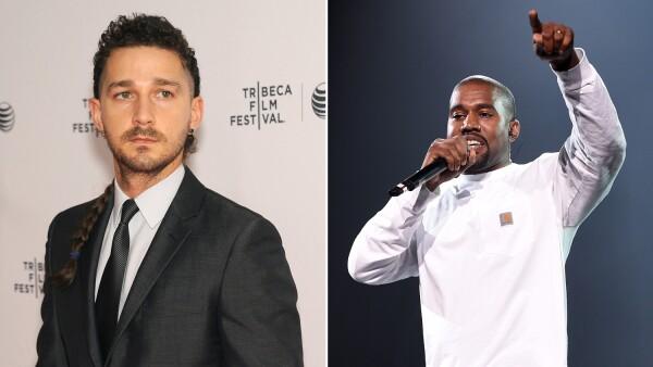 Shia LaBeouf y Kanye West