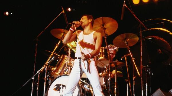 Freddie Mercury en 1982