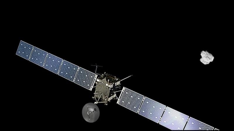 Así es como la nave ?Rosetta? se aproxima a un cometa, para el encuentro histórico el miércoles