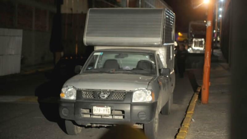 Camioneta robo material radioactivo