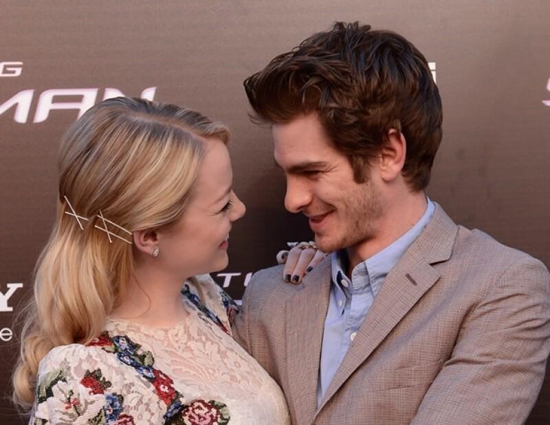 """Antes de que los actores repitan sus papeles en la segunda parte de """"The Amazing Spider Man 2"""", ellos están disfrutando de un descanso muy merecido."""