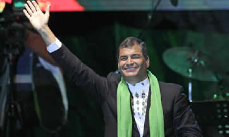 Correa ha señalado que si los periodistas se disculpan y admiten que mintieron, los perdonará. (Foto: AP)