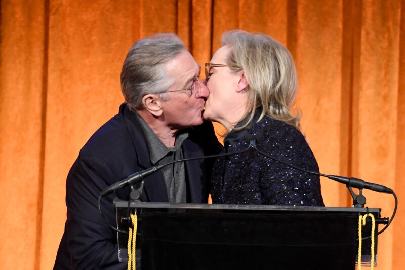Robert De Niro y Meryl Streep