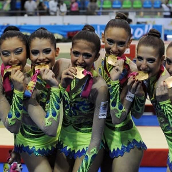 Brasil Gimnasia Panamericanos