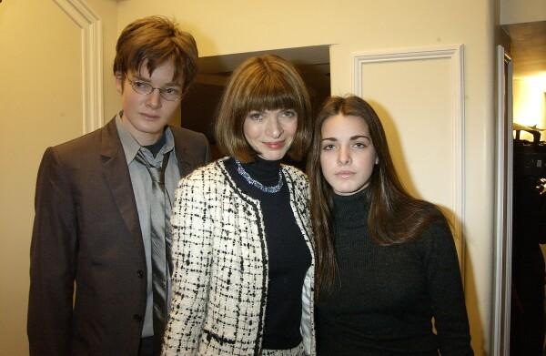 Charles Shaffer, Anna Wintour y Bee Shaffer