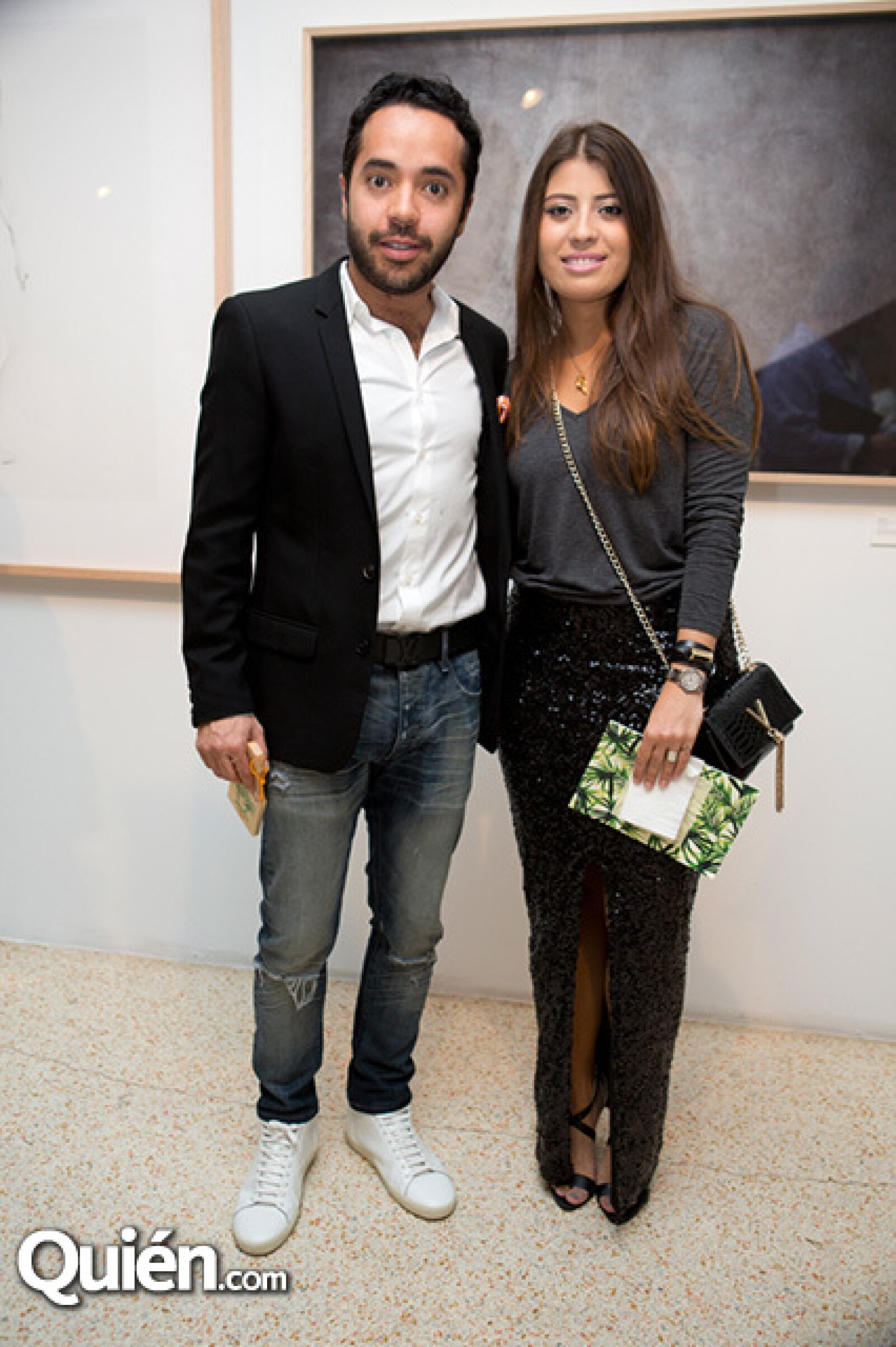 Alex Bracho y Lisette Pérez Cautiño