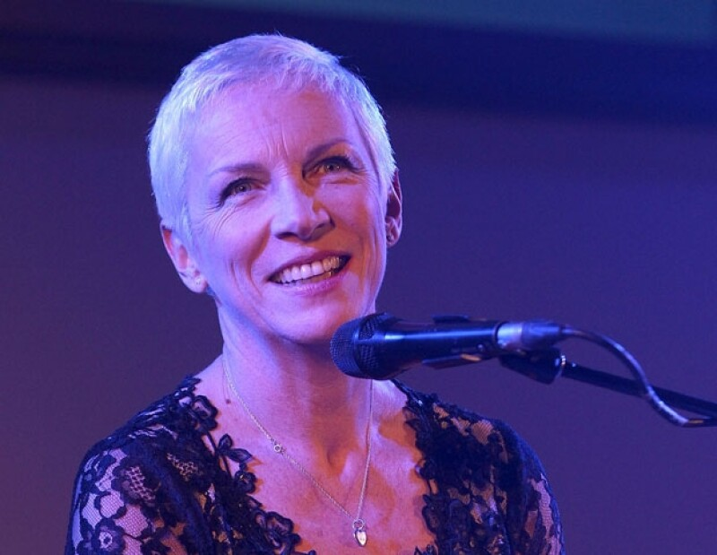 A sus 58 años, la cantautora Annie Lennox ha hecho labores de filantropía y activismo político.