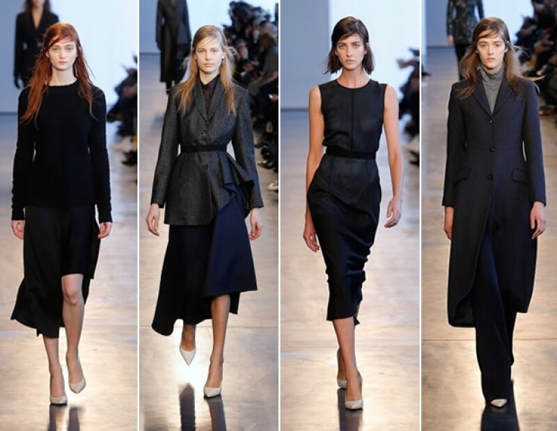 Parte de la colección de Theory en New York Fashion Week 2014.