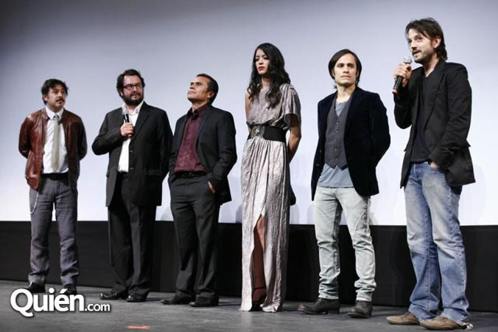 Gerardo Naranjo,Pablo Cruz,Noé Hernández,Stephanie Sigman,Gael García Bernal,Diego Luna
