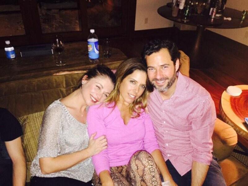Las actrices, junto a sus respectivas parejas Emiliano Salinas y Juan Soler pasaron juntas Año Nuevo en una divertida celebración en la que compartieron fotos en sus redes sociales.