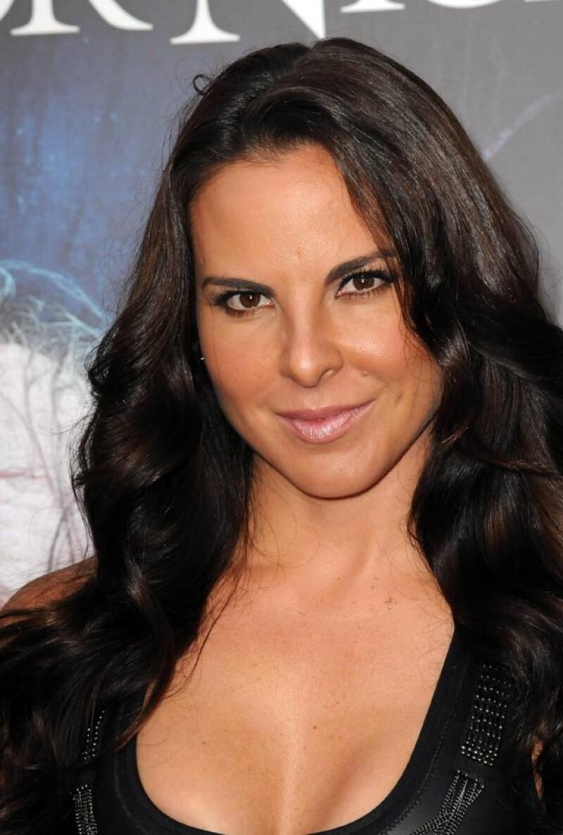Kate confesó que tiene una relación de amistad con Luis Miguel.