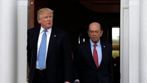 Trump y Ross