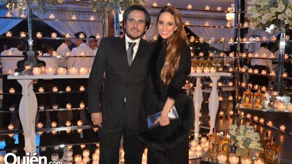Andrés Preciado y Andrea Quirarte