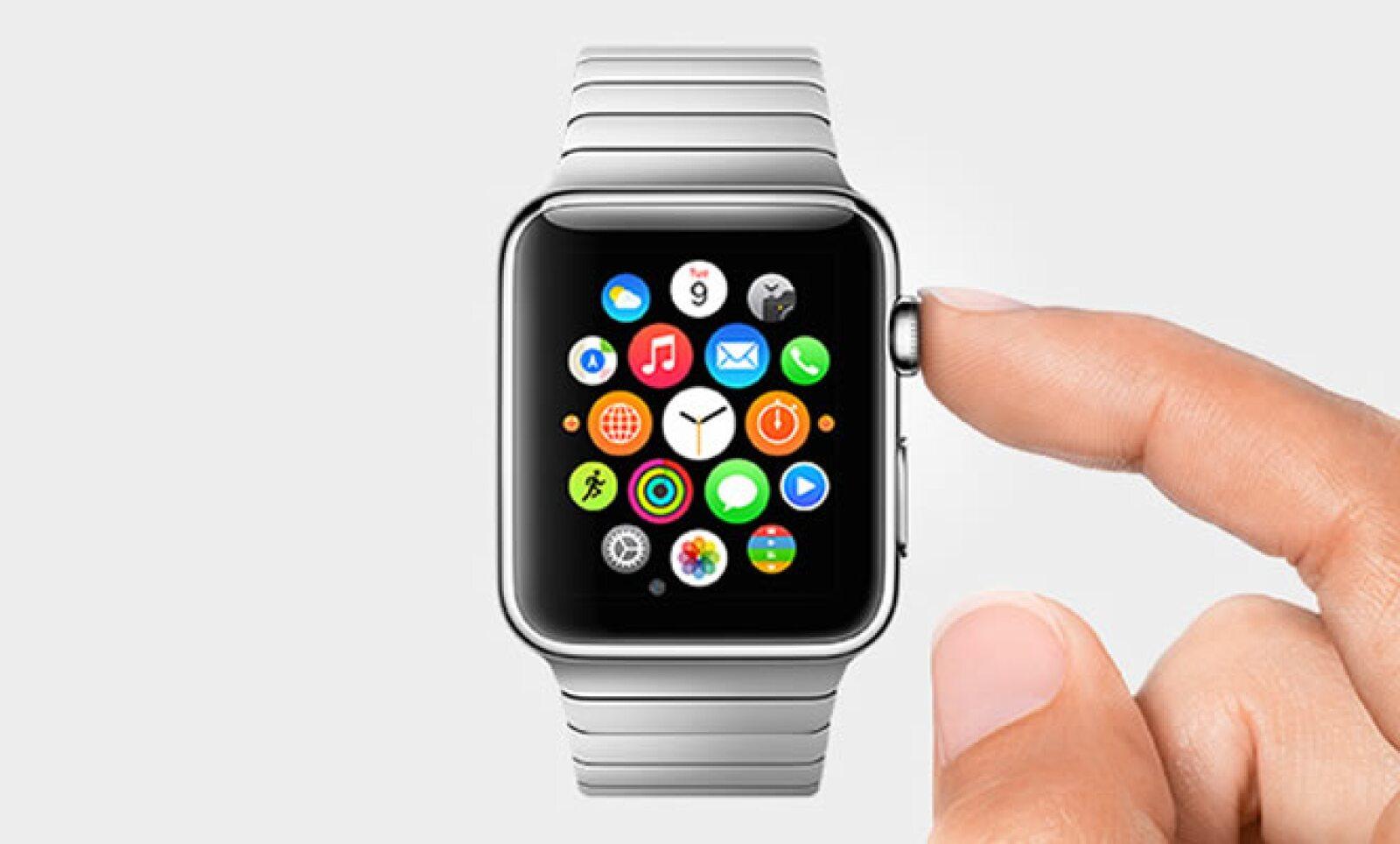 El Watch está equipado con el asistente de voz Siri y también con una aplicación de fotografía.