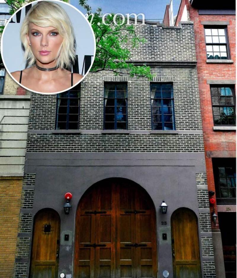 Mientras su penthouse de 20 millones de dólares en NY está en renovación, la cantante vivirá en este impresionante lugar ubicado en West Village.
