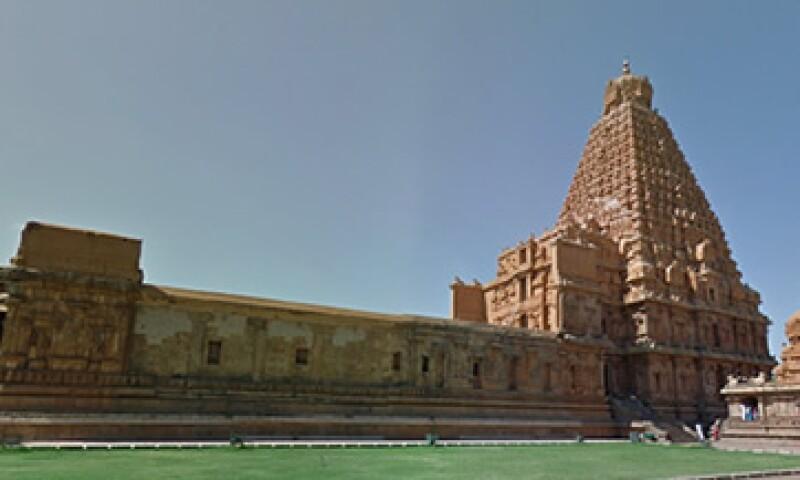 El Templo de Thanjavur está ubicado en el estado Tamil Nadu, en India. (Foto: tomada de Google Maps )