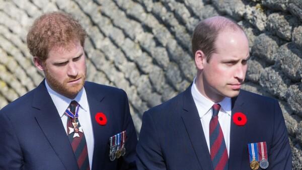 Príncipe Harrt y el príncipe William