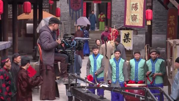 Los figurantes o extras del Hollywood chino buscan la gloria