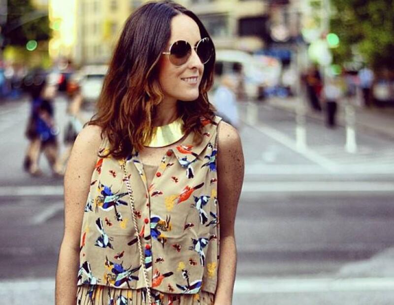 Estudió la licenciatura en comunicación, pero su pasión por el diseño la llevó a iniciar una marca de accesorios en Nueva York.