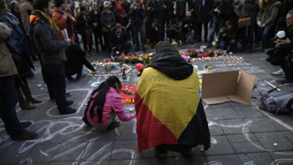 Las autoridades de Bélgica han cerrado temporalmente el transporte público. (Foto: AFP)